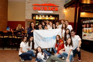 Interact Club SR e Outback Catarina:jantar beneficente 09/05