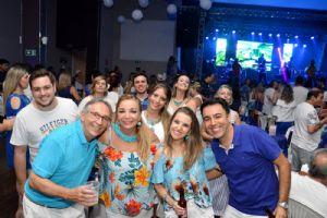 Carnaval no São Roque Clube, 12/02, Noite do Azul e Branco