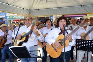 ACIA apresentou Orquestra de Viola Caipira, Praça da Matriz
