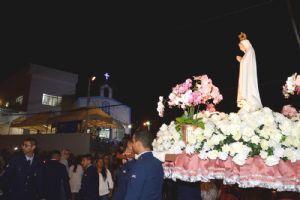 13 de maio, Cambará: Procissão e Santa Missa N.S. de Fátima
