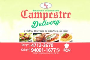 Restaurante e Churrascaria Campestre DeliveryTerça a Domingo