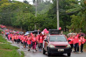 Outubro Rosa domingo, 22/10, da Praça até o Brasil Poeira!